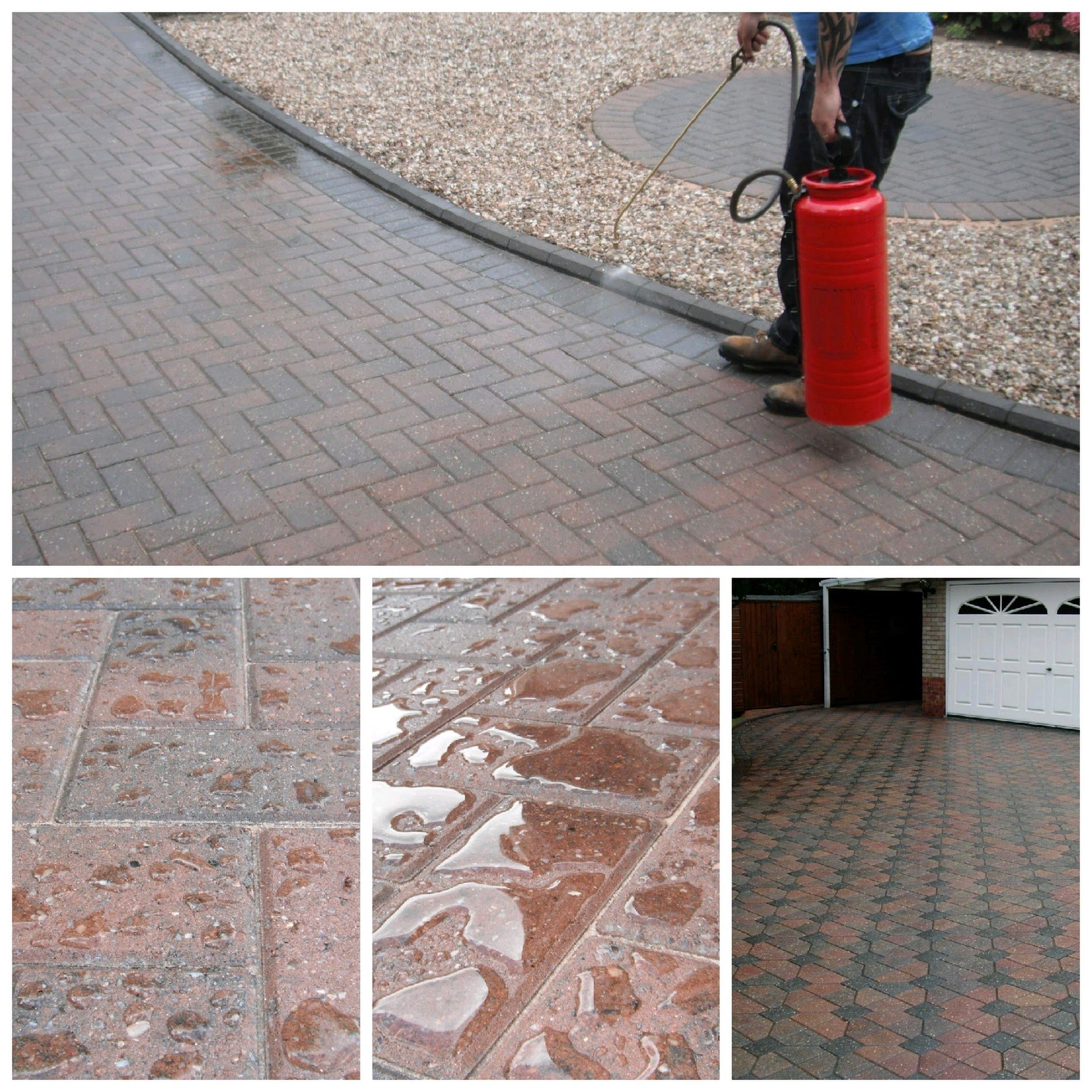 cleaning and sealing carried out by your local