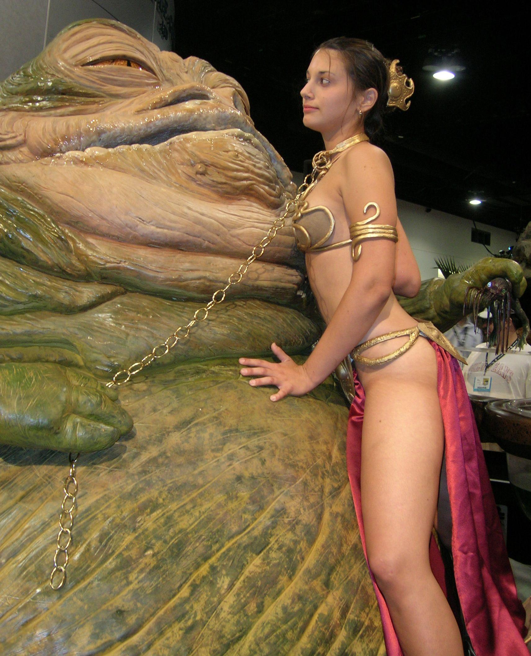 Leia slave by Sarah Mau | Princess Leia | Pinterest