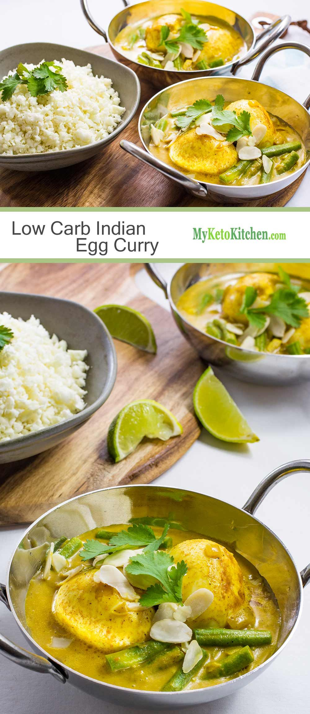 Low Carb Indian Boiled Egg Curry Recipe Indian food