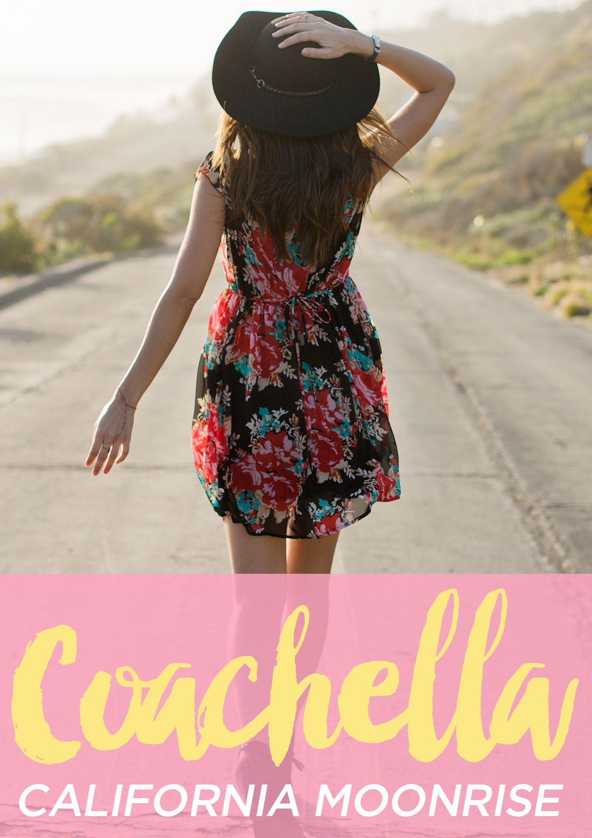 Coachella Fashion x California Moonrise