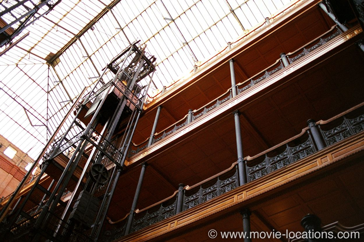 Blade Runner Movie Location Bradbury Building 304 South Broadway