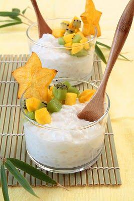 Coconut Tapioca Pudding