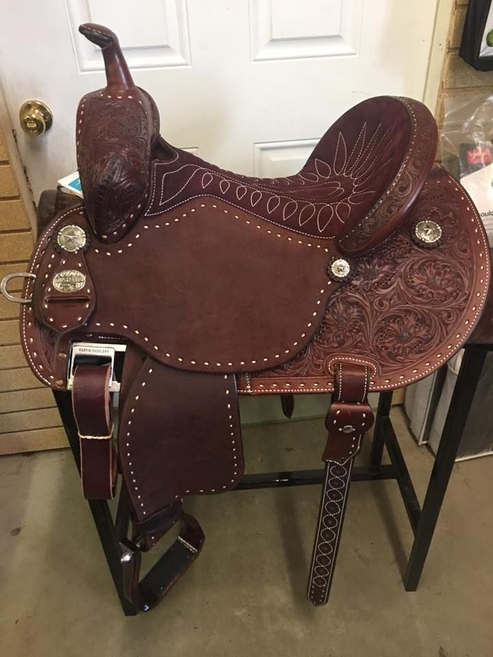 Martin Barrel Saddle   Horses ❤   Pinterest   Caballos negros ...