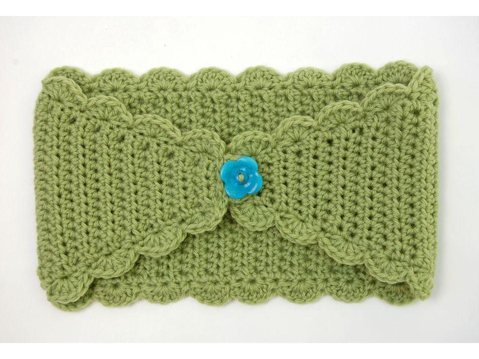 How to Make a Crocheted Headband | Häkelmützen, Handarbeiten und Häkeln