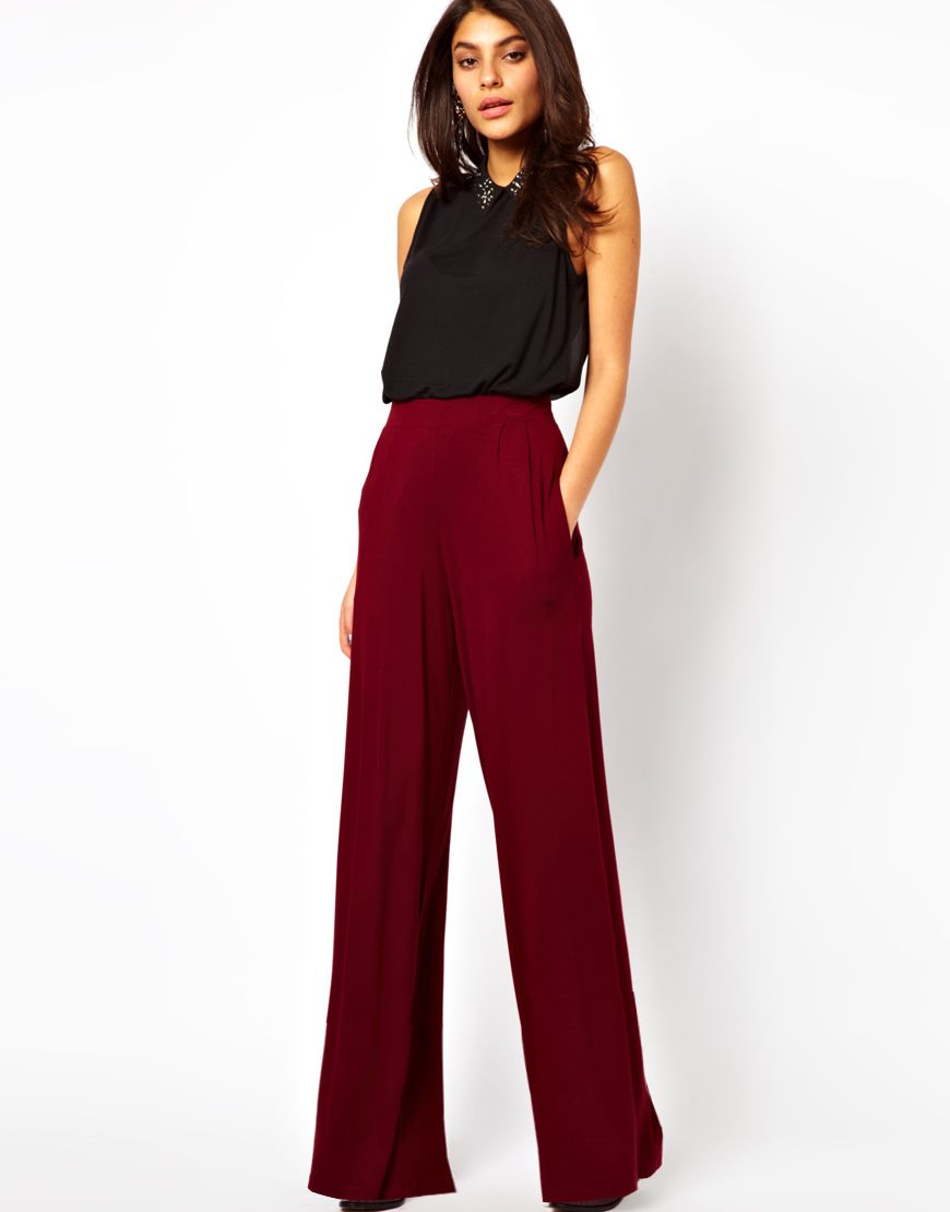70e742b7f5d4 Style Pantry | Asos-flare-pants | Fashionista! in 2019 | Wide ...