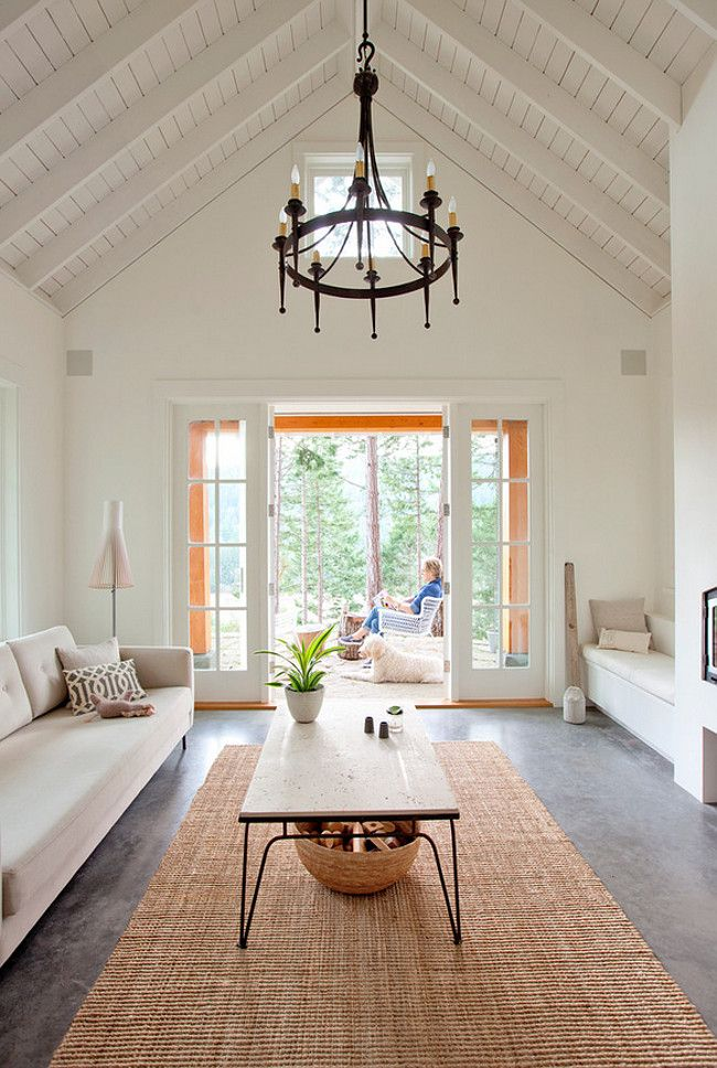 This Ceiling U0026 Paint Color / Ceiling + Paint: Living Rm White Walls    Simply White   Benjamin Moore Paints