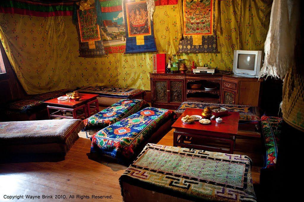 Inside A Tibetan Minority Home