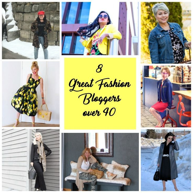 8 Great Fashion Bloggers over 40