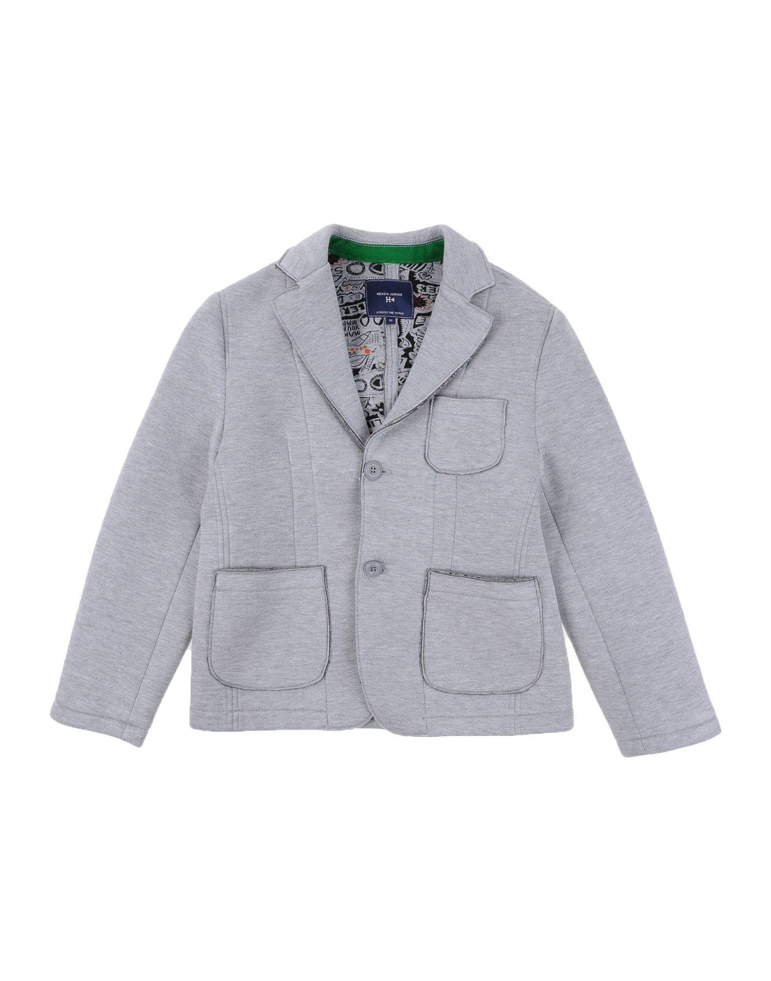 on sale 4c09f d5d21 Silvian Heach Junior - Boys Neoprene Beard Jacket, Grey ...