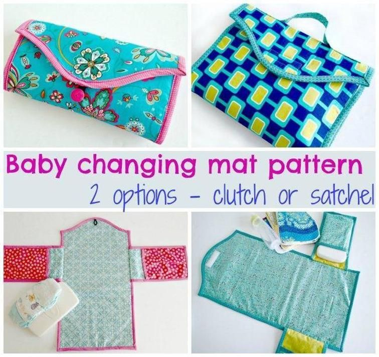 Baby Changing Mat Pattern 2 Options A Free Craftsy Pattern