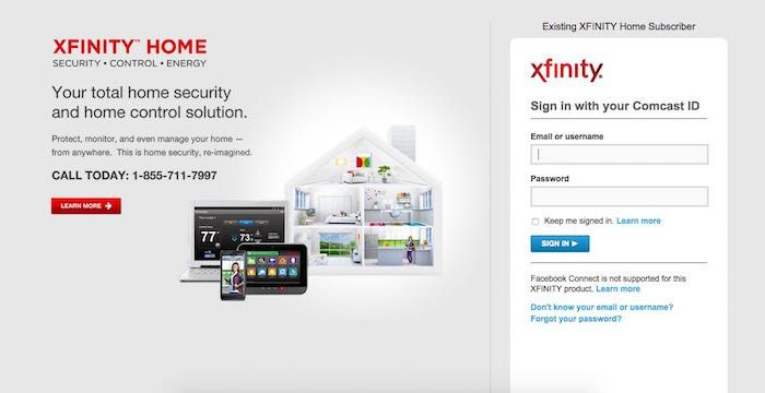 Xfinity Home Security Login Page | Flisol Home