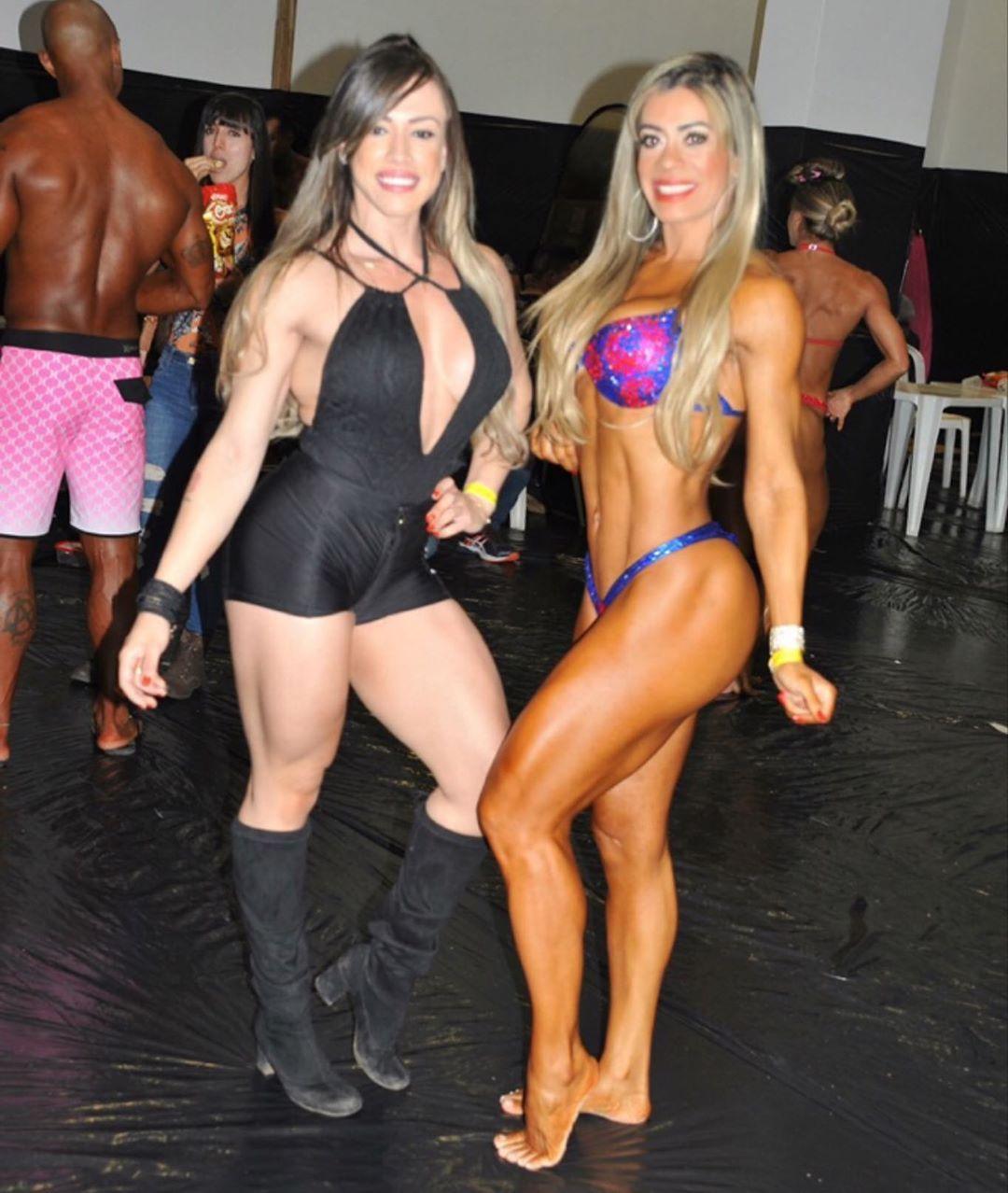 Com a linda atleta @tarci_moura . Obrigada pela força no backstage, juntamente ao Valdemar . 🤗😘😘😘❤️...