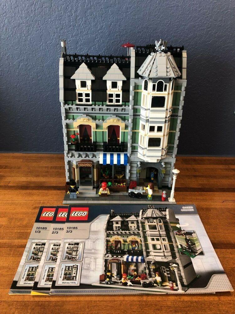 Lego Modular Building Green Grocer 10185 100