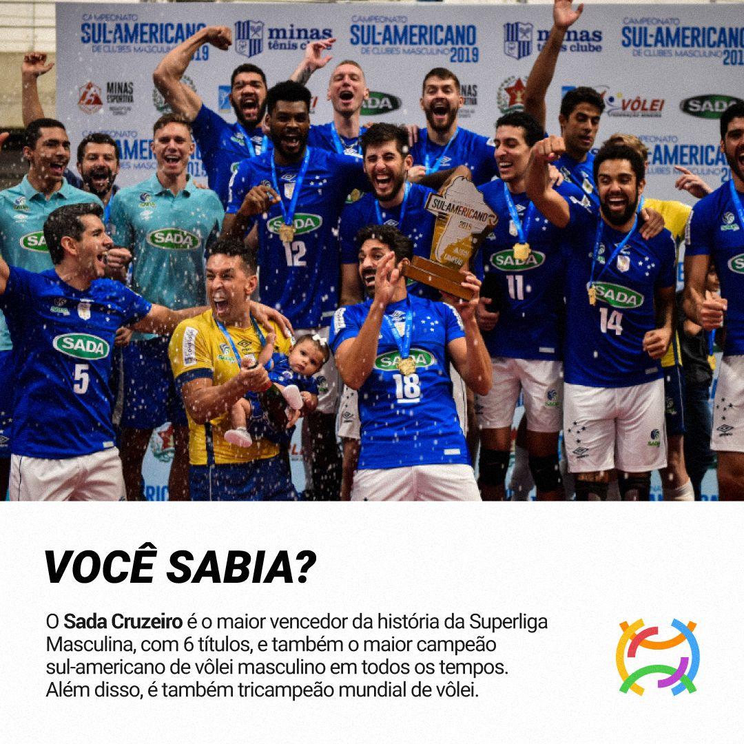 Titulos Do Sada Cruzeiro Sada Cruzeiro Cruzeiro Volei