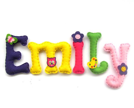 Happy Birthday Banner Felt Letters Alphabet Name Felt Shapes Felt Letter I Family Banner Felt Decorations Name Banner Choose Color