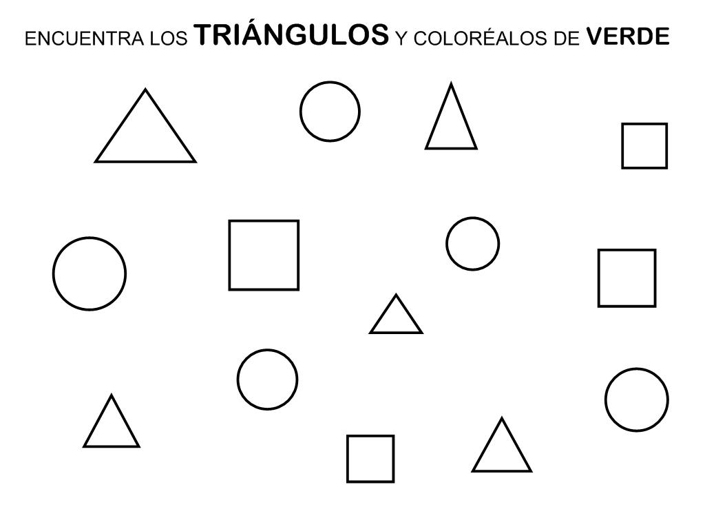 RECURSOS EDUCACIÓN INFANTIL: EL TRIÁNGULO | FORMES-Géométriques ...