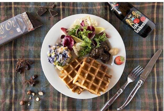 「ワールド・ブレックファスト・オールデイ」で、ベルギースタイルの朝ごはん
