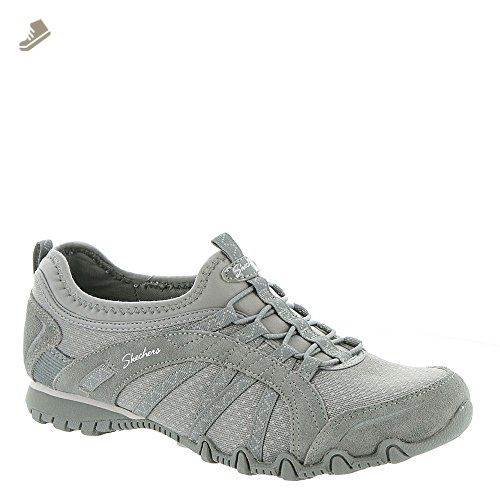 Skechers USA Bikers 49400 Women's Slip On 9.5 B(M) US Grey