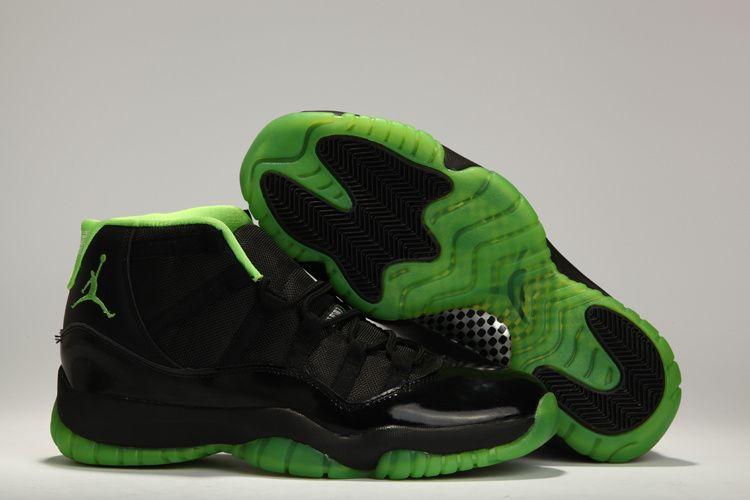 UK sale Men Nike Air Jordan 11 Retro Chalzedon White Black Shoes