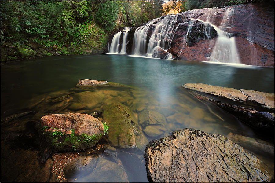 Beautiful Waterfalls Photograph  - Beautiful Waterfalls Fine Art Print