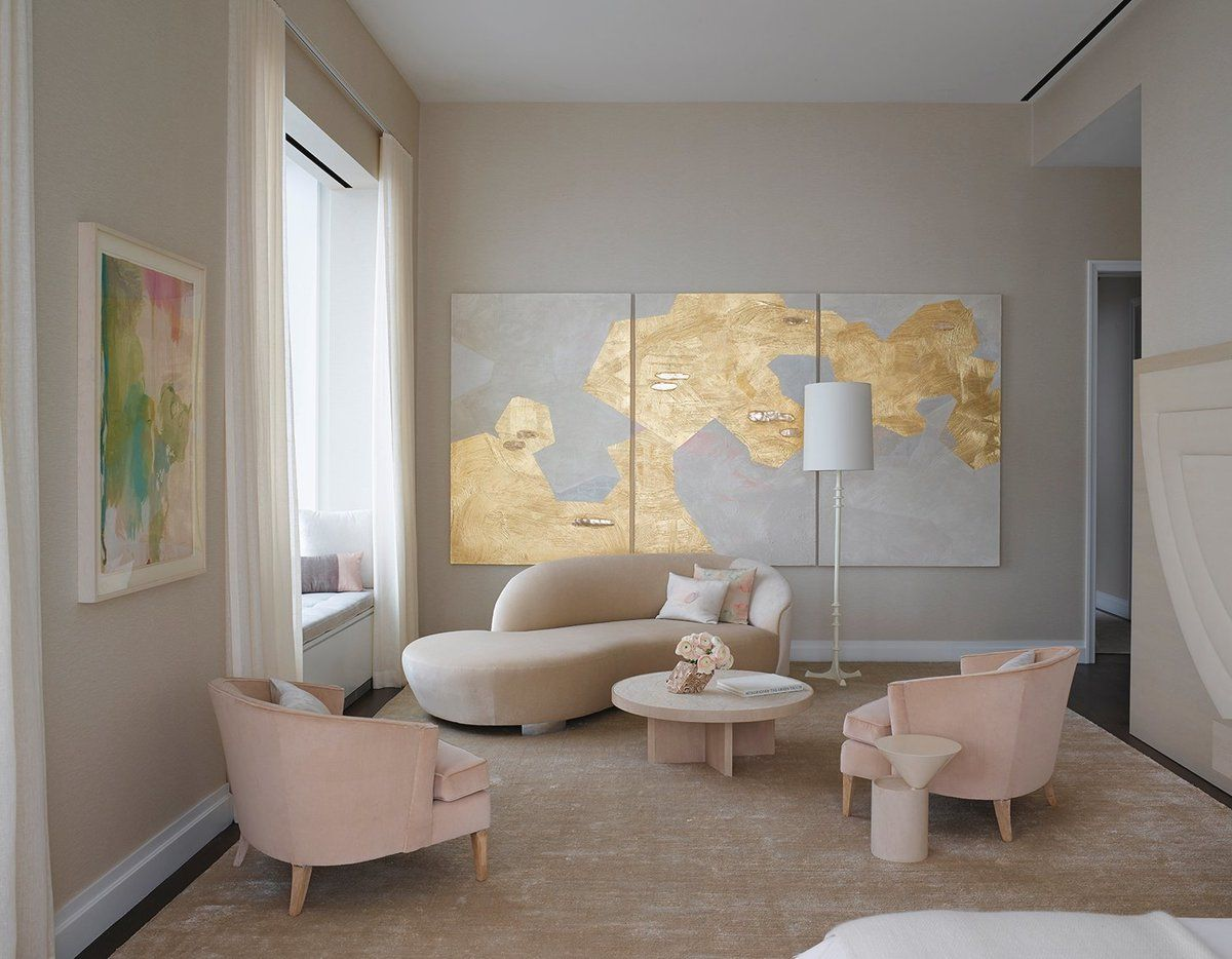 See More Of Kelly Behun Studio S Park Ave Penthouse On 1stdibs Living Room Design Modern Kelly Behun Bedroom Design