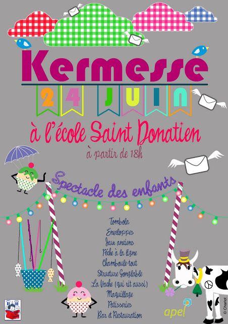 Affiche kermesse marmaille f te de l 39 cole kermesse ecole affiche - Kermesse dessin ...