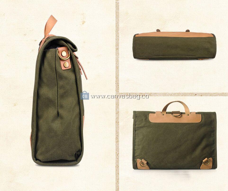 Canvas Laptop Bags Messenger Bag Canvas Bag