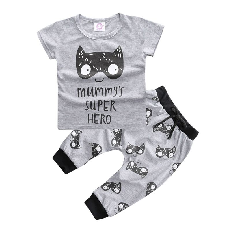 Mummy's Super Hero 2 Piece Outfit
