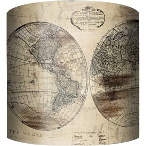 10 drum lamp shade world map drum lamp shades drums and walmart 10 drum lamp shade world map 20 at walmart gumiabroncs Image collections