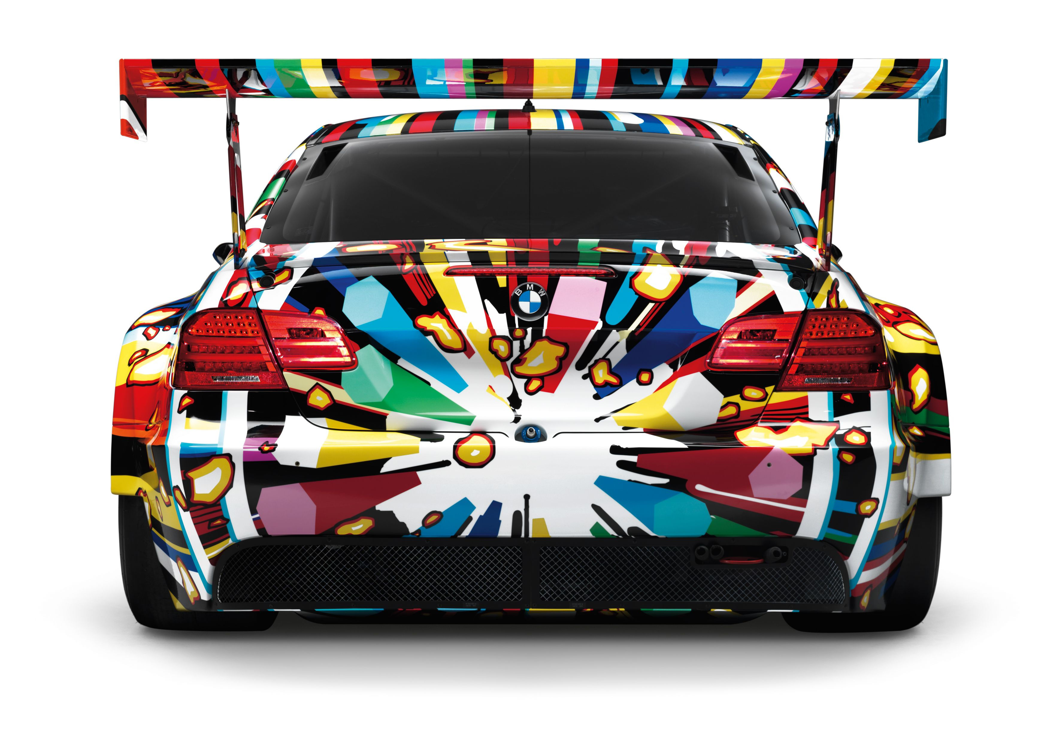 Photo Gallery 40 Years Of Bmw Art Cars Bmw Art Art Cars Car Painting