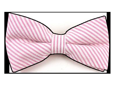 Pink Bow Tie For Tyler Pink Bow Tie Mens Bow Ties Pink Seersucker