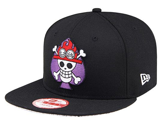 Portgas D. Ace Snapback Cap by NEW ERA x ONE PIECE  79acb96ac98