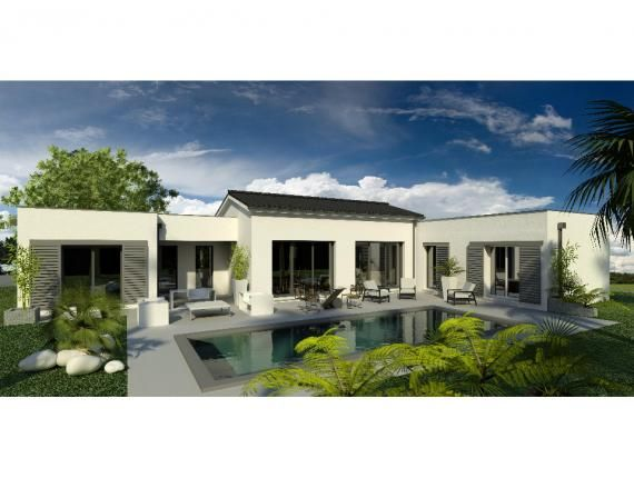 Modèle de maison Maison 158m2 - 5CH - Garage - PP ANS 2356  Photo 1