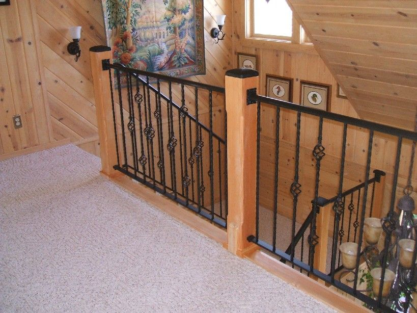 Best Home Depot Balusters Interior From The Top Stair Remodel Stair Banister Iron Railing 640 x 480