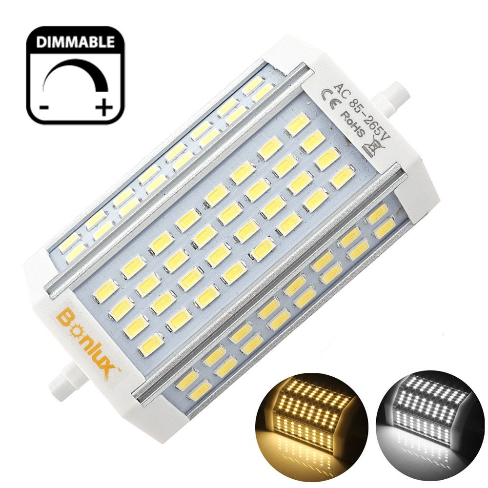 Led R7s 30w Dimmable Light Bulb Double Ended J Type J118 Led Floodlight With 300w R7s Halogen Bulb Replacement Light Bulb Led Bulb Light Bulb Types