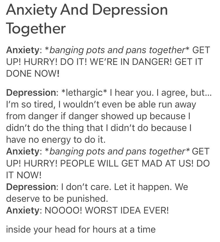 Sad Quotes About Depression: Anxiety + Depression
