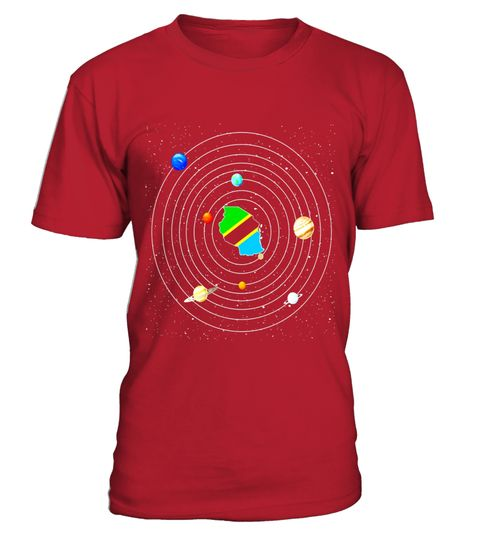 # Tanzania Map In Galaxy Funny T-Shirt . Special Offer