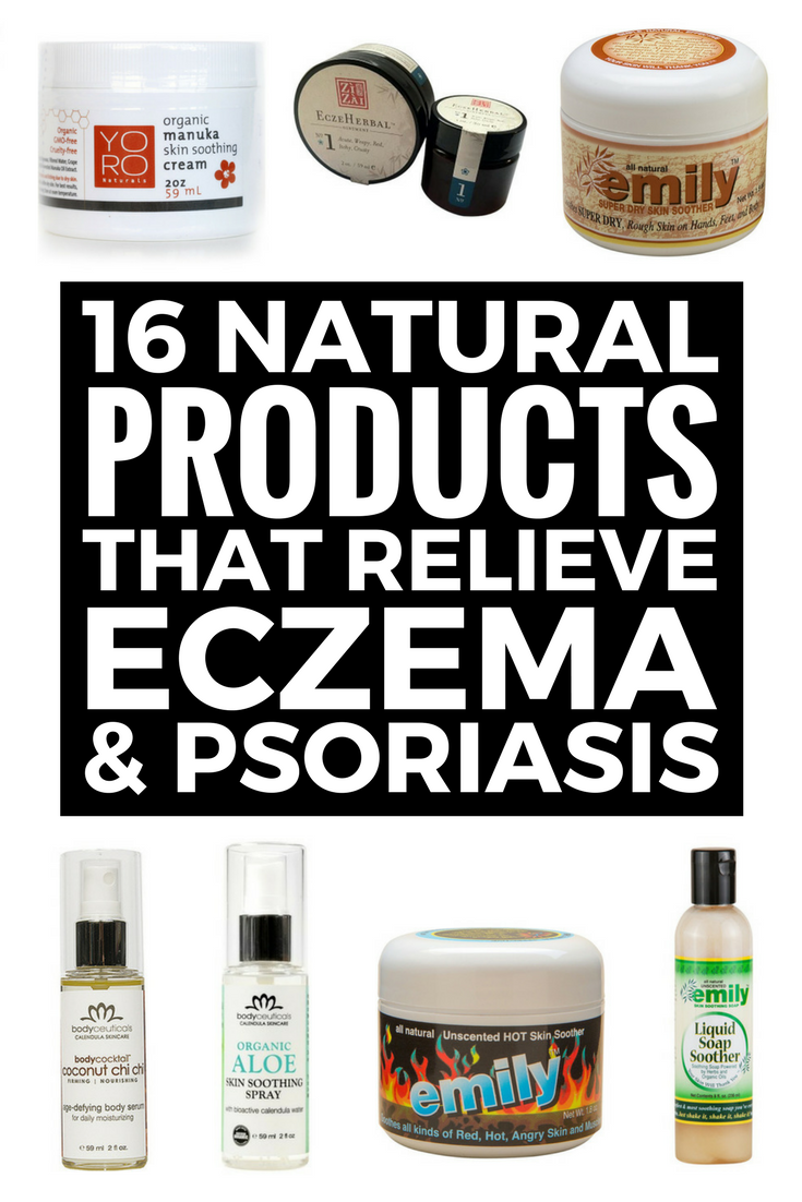 16 Natural Products To Relieve Eczema And Psoriasis Looking For The Best Natural Skin Care Products And Home Remedies F Dry Skin Remedies Eczema Severe Eczema