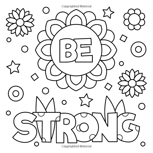 Amazon Com Wild And Free Inspiring Words Coloring Book Cute Positive Word Coloring Book For Love Coloring Pages Coloring Pages Inspirational Coloring Pages