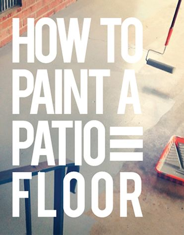 Painting Concrete Patio Slabs Concrete Patio Floor Paint Ideas