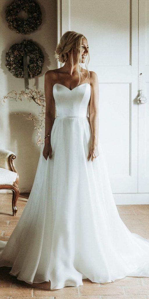 Photo of Silk Wedding Dresses