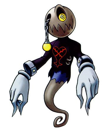 Kingdom hearts ghost heartless