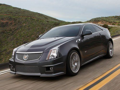 2012 Cadillac CTS-V Series - 0 to 60 in less than 4 seconds Oh yes