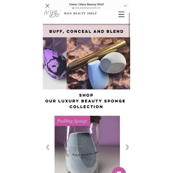 We made some additions to the website as well as some layout changes! Have a look and let us know what you think💞 #beautybusiness #beauty #beautysponge #makeupsponge #smallbusiness #newwebsite #lovebeauty #makeup #makeupaccessories