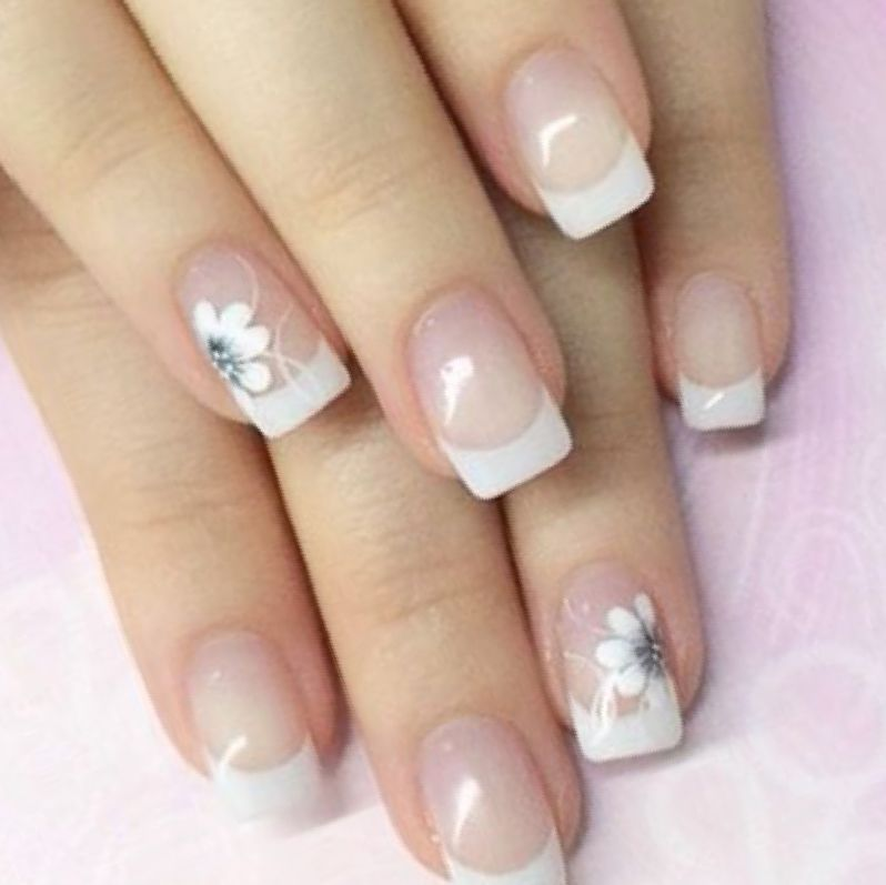 29 Best French Tip Nail Designs Related Nails Nail Designs