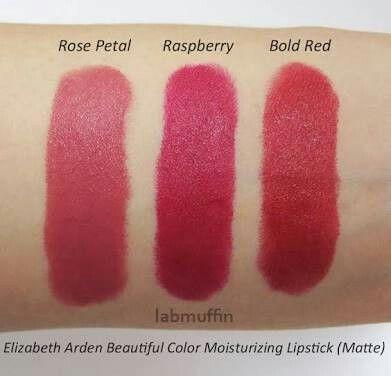 Lipstick swatches matte lipsticks colors elizabeth arden products crazy makeup style rose petals also image result for revlon velvet hair make up rh pinterest