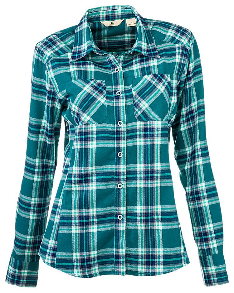 Ascend sweet creek plaid shirt for ladies bass pro shops for Bass pro shop fishing shirts
