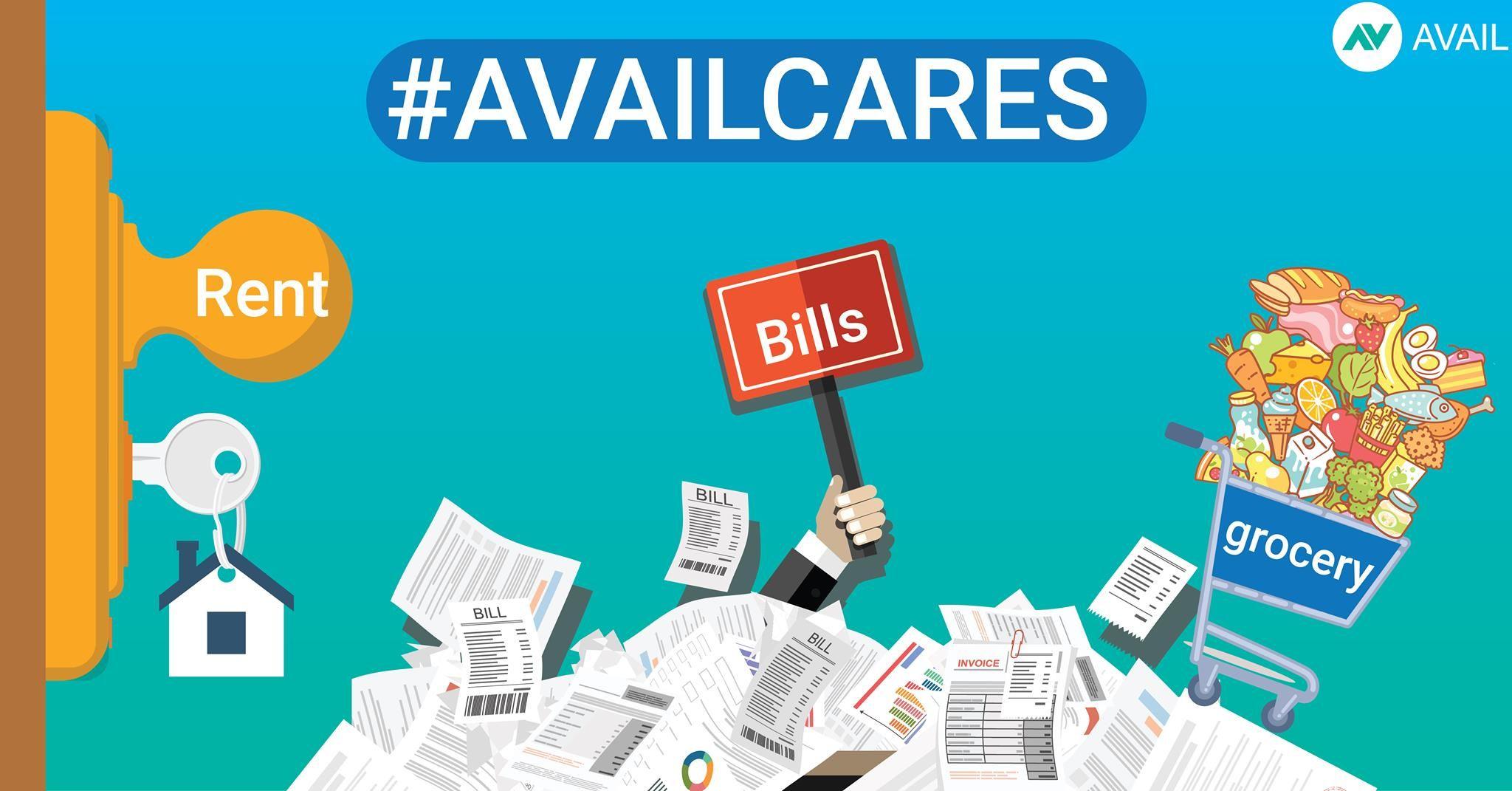 Avail cares prepaid debit cards instant cash visa