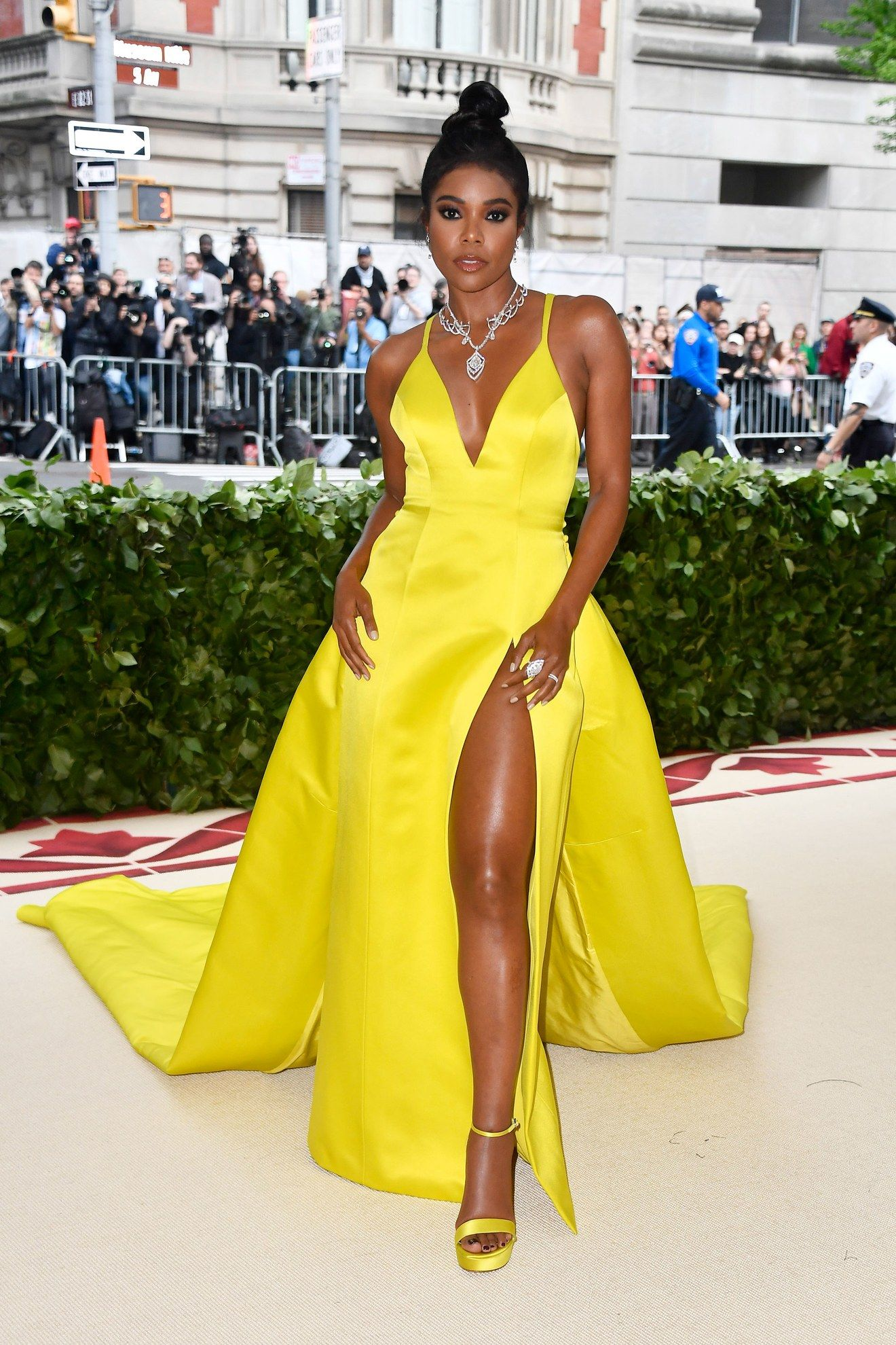 539ee1abefd See what your favorite celebrities are wearing on the 2018 Met Gala red  carpet.