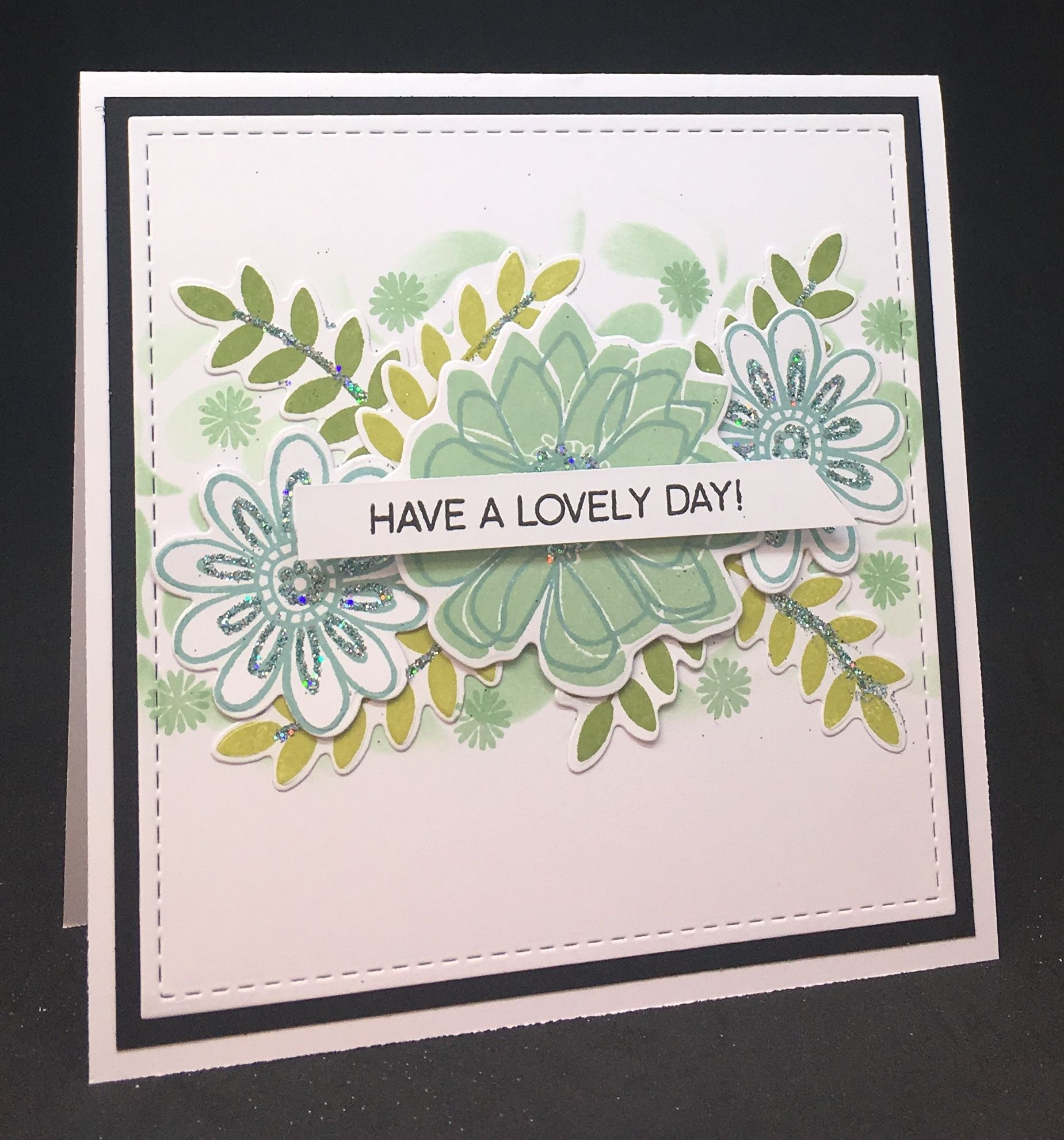 Cardmaking with catherine pooler designs using bloomin